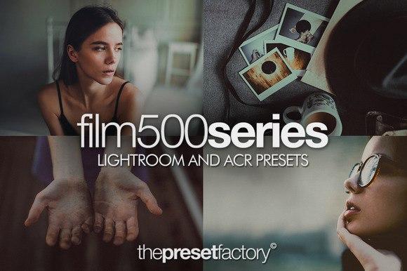 Preset film 500 series for lightroom
