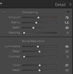 Preset How to reduce noise in photos in Lightroom? for lightroom