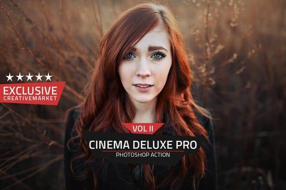 Preset Pro Deluxe Cinema Action Vol 2 for lightroom