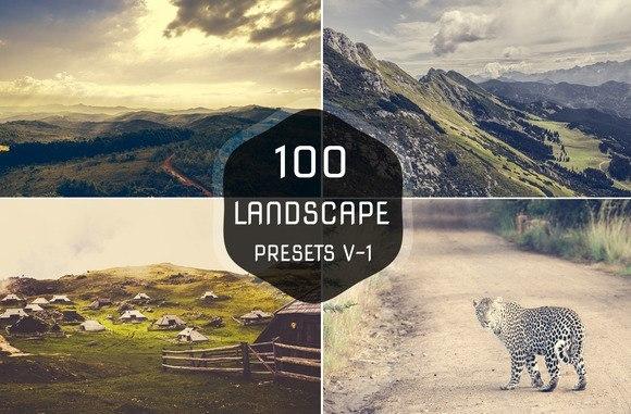 Preset 100 Landscape Lightroom Preset for lightroom