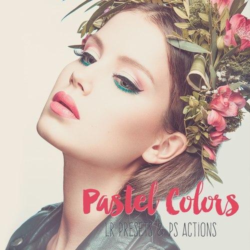 Preset Beautiful pastel presets for lightroom