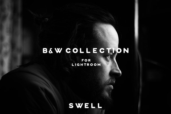 Preset Collection of cool Black and white presets for lightroom
