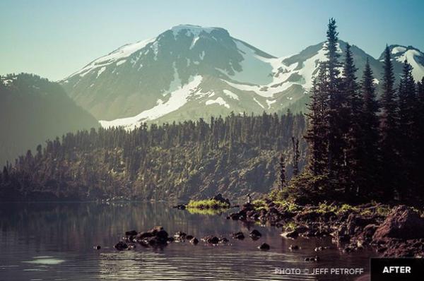 Preset Treys Lightroom-Presets: Mountains & Horses for lightroom