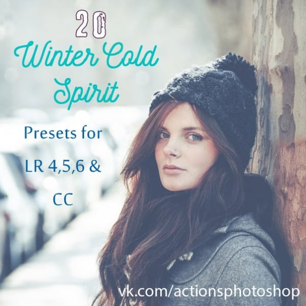 Preset 20 Winter Cold Spirit for lightroom