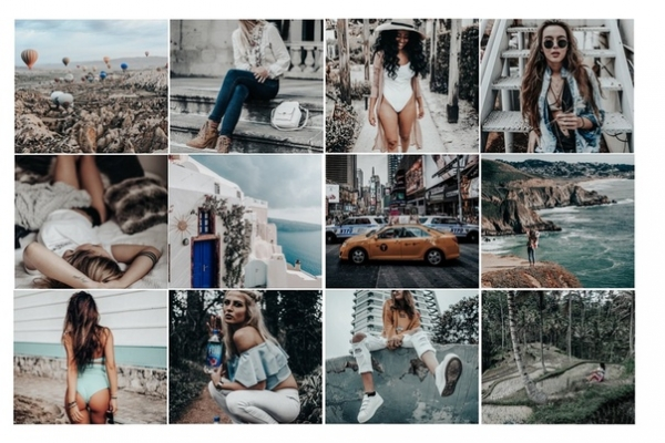 Preset MOJITO for lightroom
