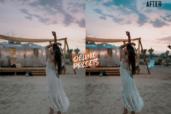 Preset DELUXE CALI BLOGGER for lightroom