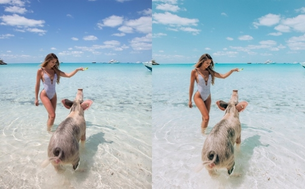 Preset BAHAMAS for lightroom