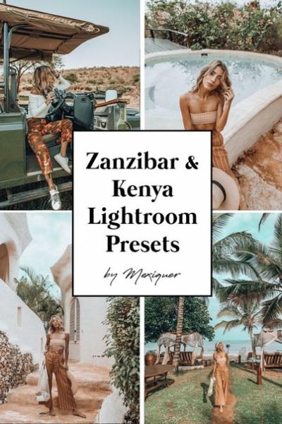 Preset Mexiquer - KENYA & ZANZIBAR for lightroom