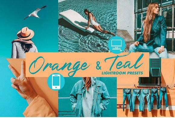 Preset Orange and Teal (Desktop) for lightroom