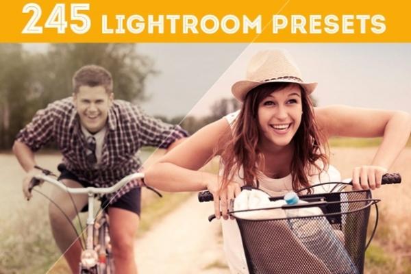 Preset 245 Pack for lightroom