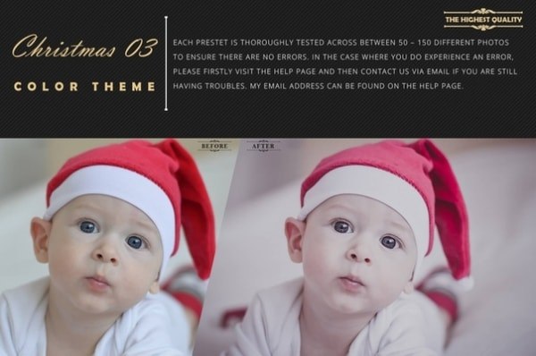 Preset Christmas Theme Collection part 03 for lightroom