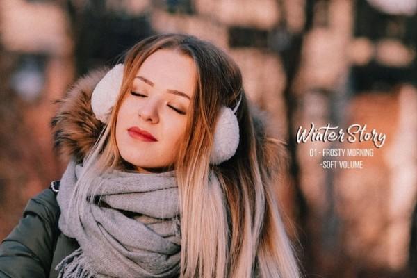 Preset Winter Story for lightroom