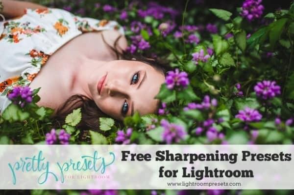 Preset 6 collections Sharpening, Dark, Cross for lightroom