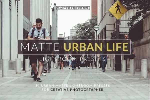 Preset Matte Urban Life for lightroom
