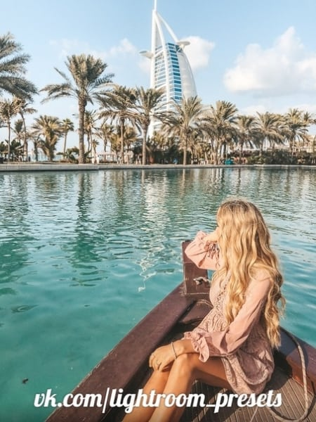 Preset Presets from the collection to Dubai for lightroom