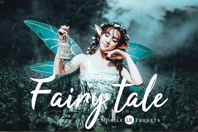 Preset Fairytale for lightroom