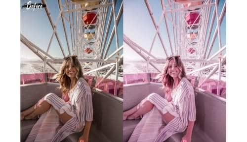 Preset Pink Desktop for lightroom