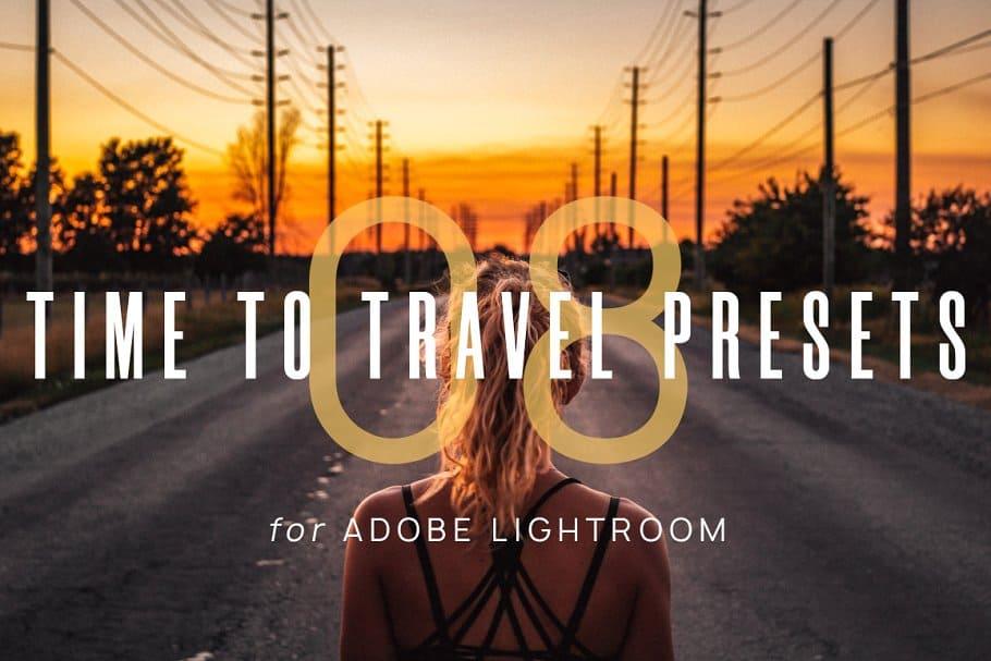 Preset 8 Time To Travel for lightroom
