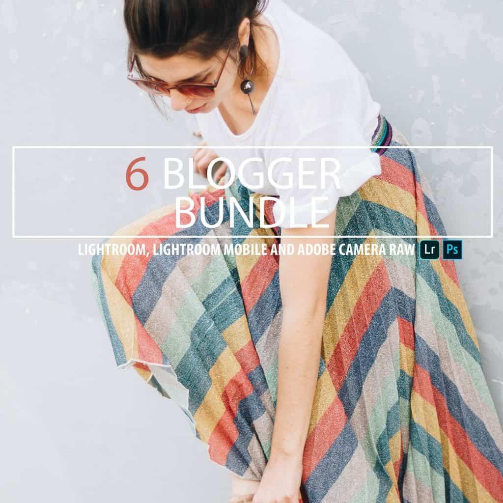 Preset Blogger Bundle Presets for lightroom