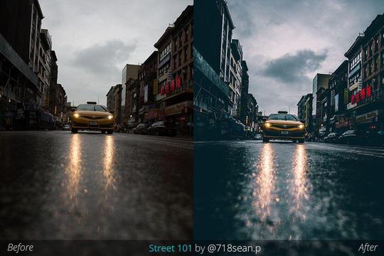 Preset AOV x 718sean.p Lightroom Presets/Adobe Camera Raw for lightroom