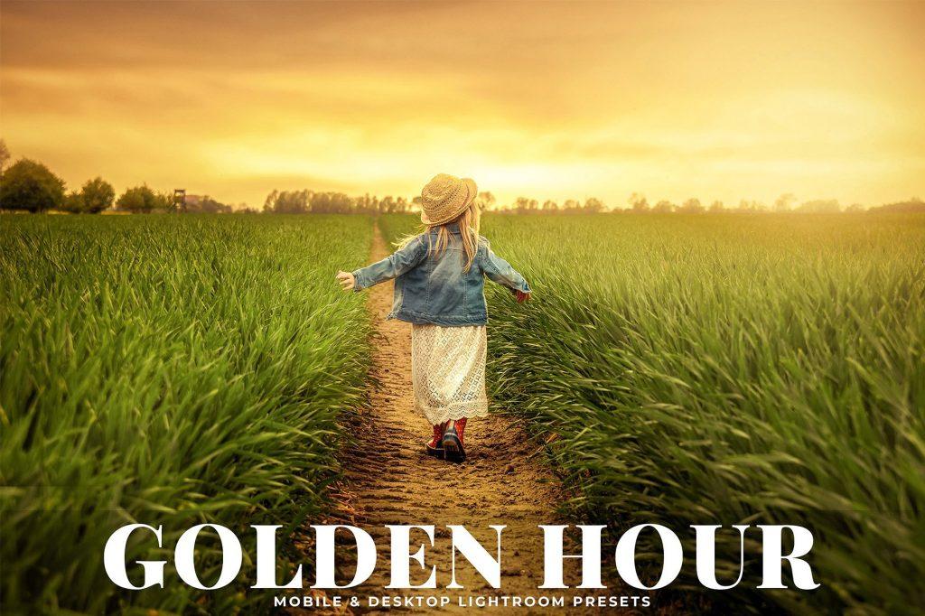 Preset Golden Hour for lightroom