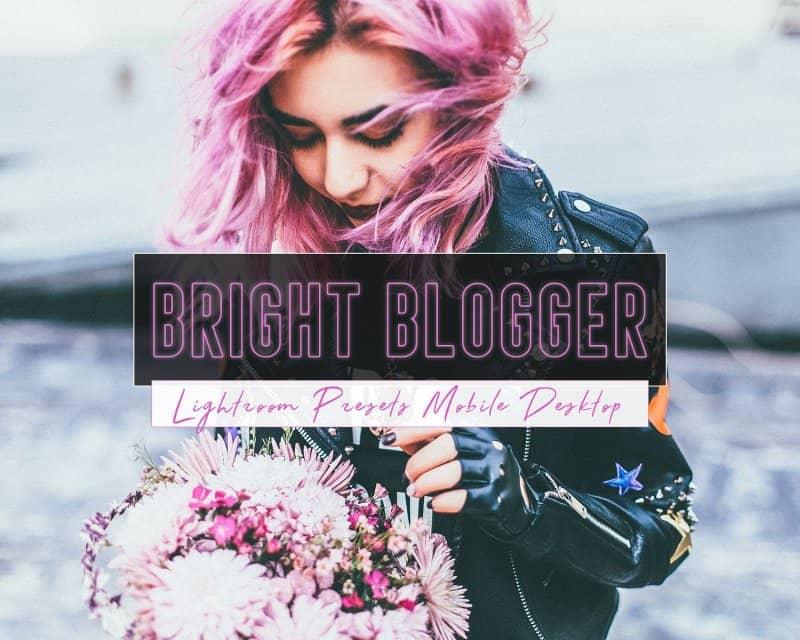 Preset Bright Blogger for lightroom