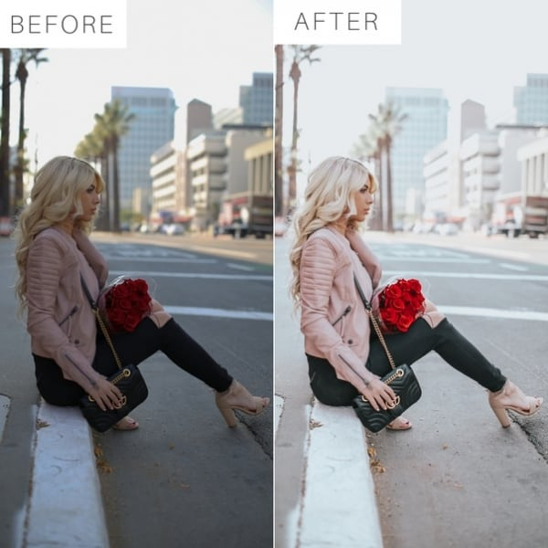 Preset Dreamy ColorX M Pink for lightroom