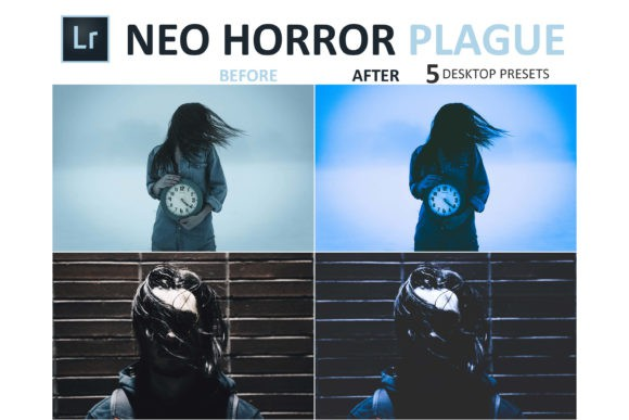 Preset Neo Horror Plague LR Collection for lightroom