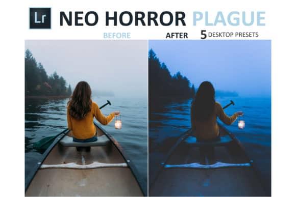 Preset Neo Horror Plague Desktop for lightroom