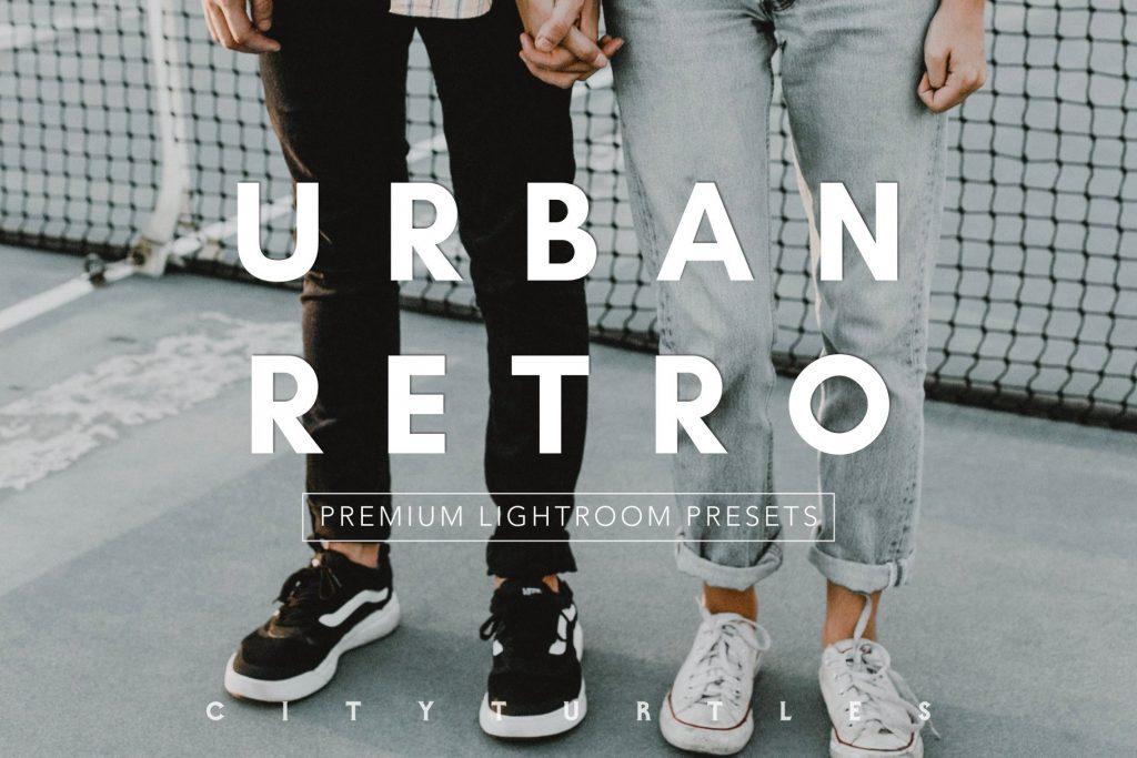 Preset URBAN RETRO Moody Editorial for lightroom