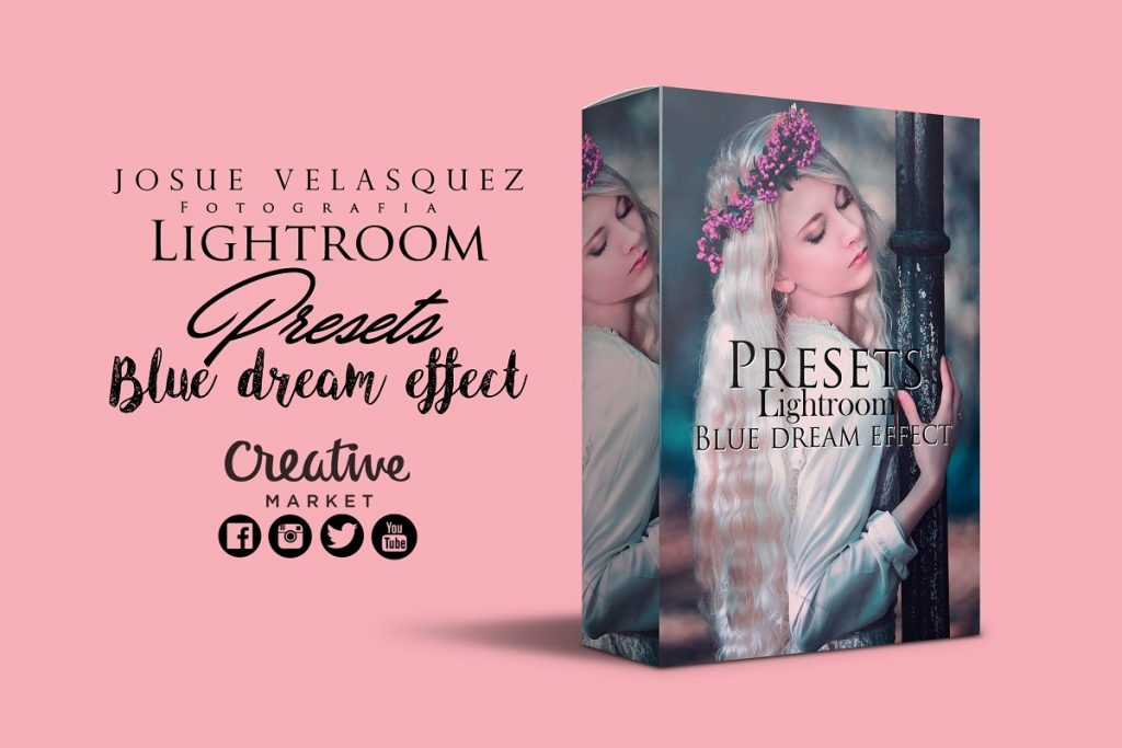 Preset Blue Dream Effect for lightroom