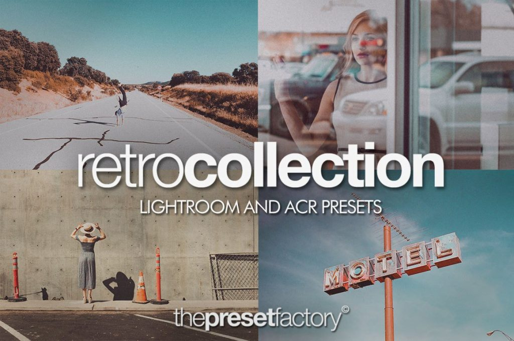 Preset The Preset Factory Retro Collection for lightroom