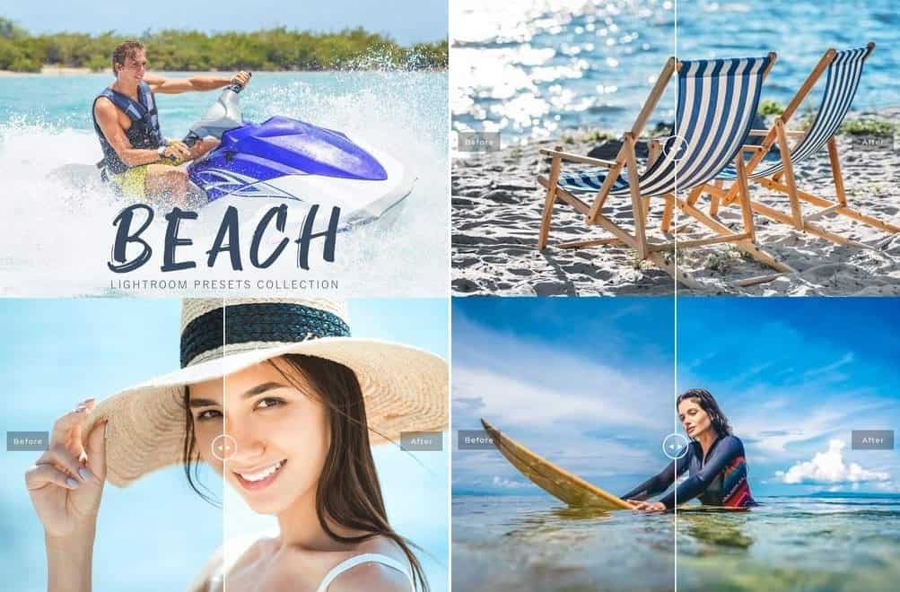 Preset Beach Collection for lightroom