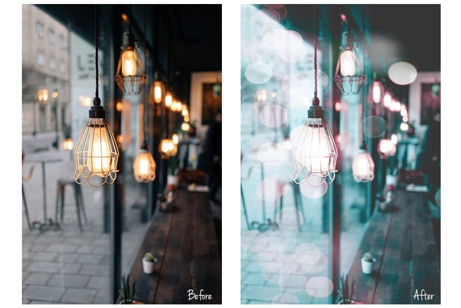 Preset Lr Ps Presets ACR Neon City Lights for lightroom