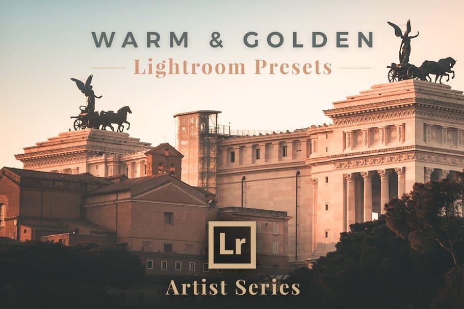 Preset Warm Golden Lightroom Presets for lightroom