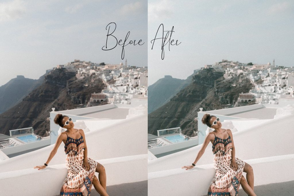 Preset Bright & Moody for lightroom