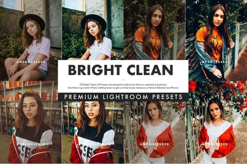 Preset Bright Clean Lightroom Presets for lightroom
