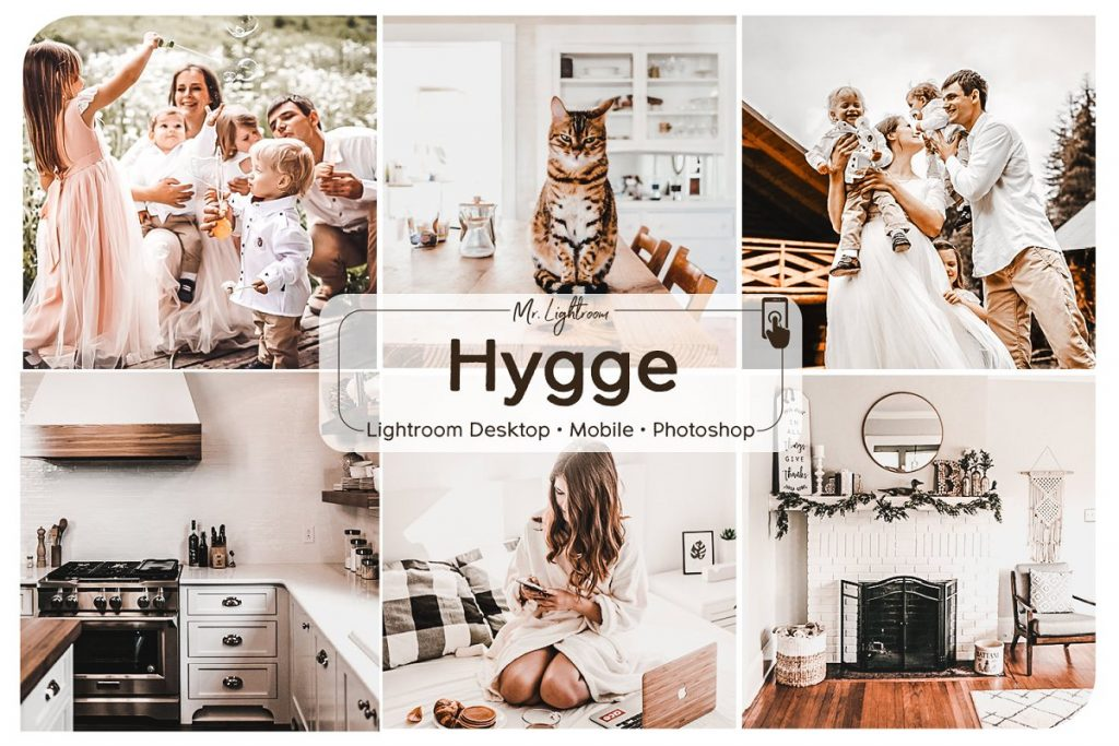 Preset Hygge Lightroom Mobile Preset for lightroom