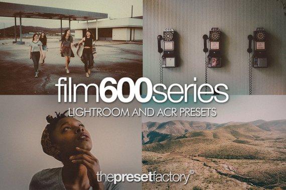 Preset The Preset Factory - Film 600 for lightroom