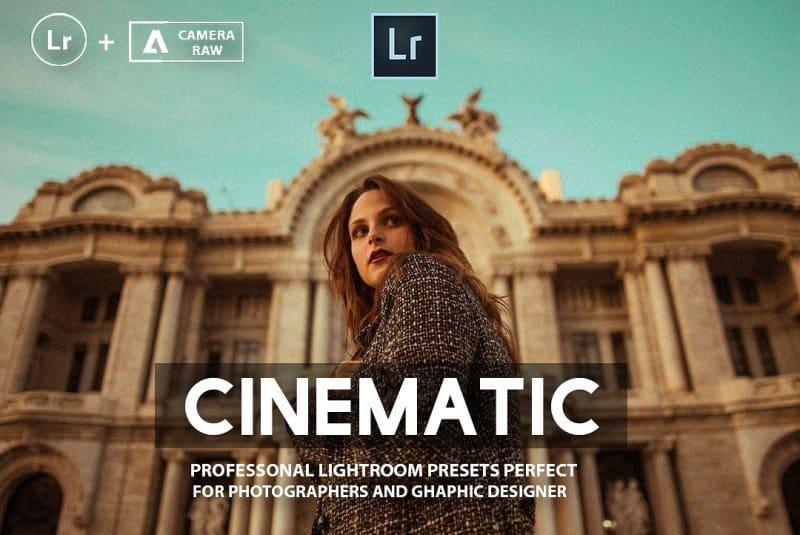 Preset Pro Cinematic for lightroom