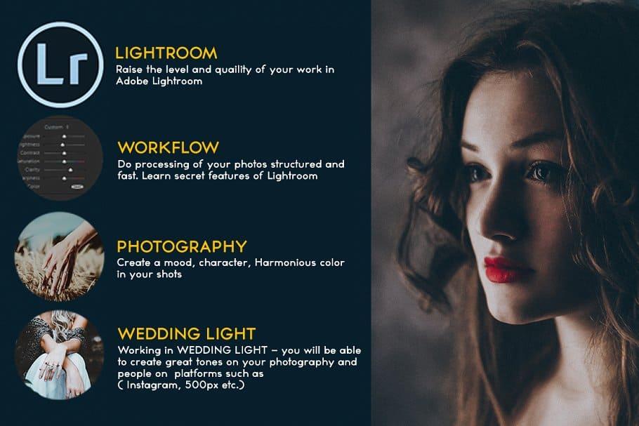 Preset Wedding Light for lightroom