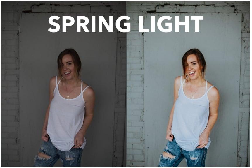 Preset Innate Light Preset Pack 1 for lightroom