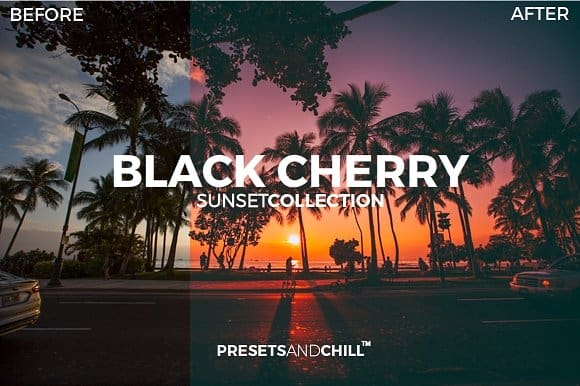 Preset Presets and Chill for lightroom
