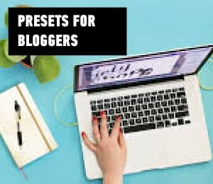 presets for bloggers