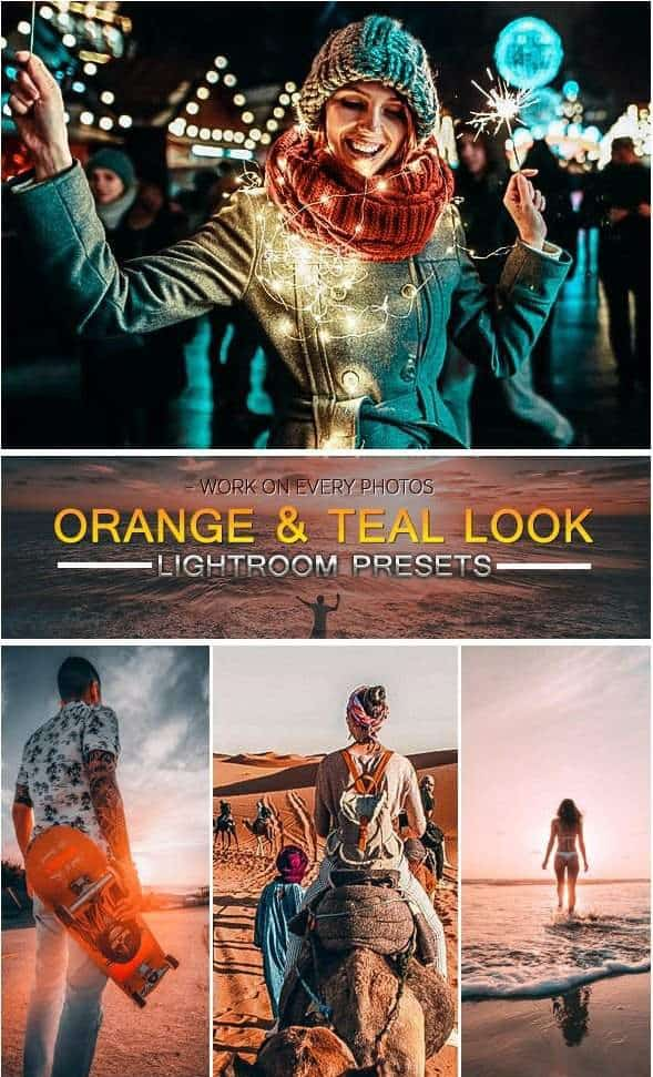 Preset Orange & Teal Look for lightroom