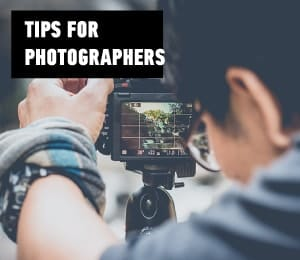 tips for photographers