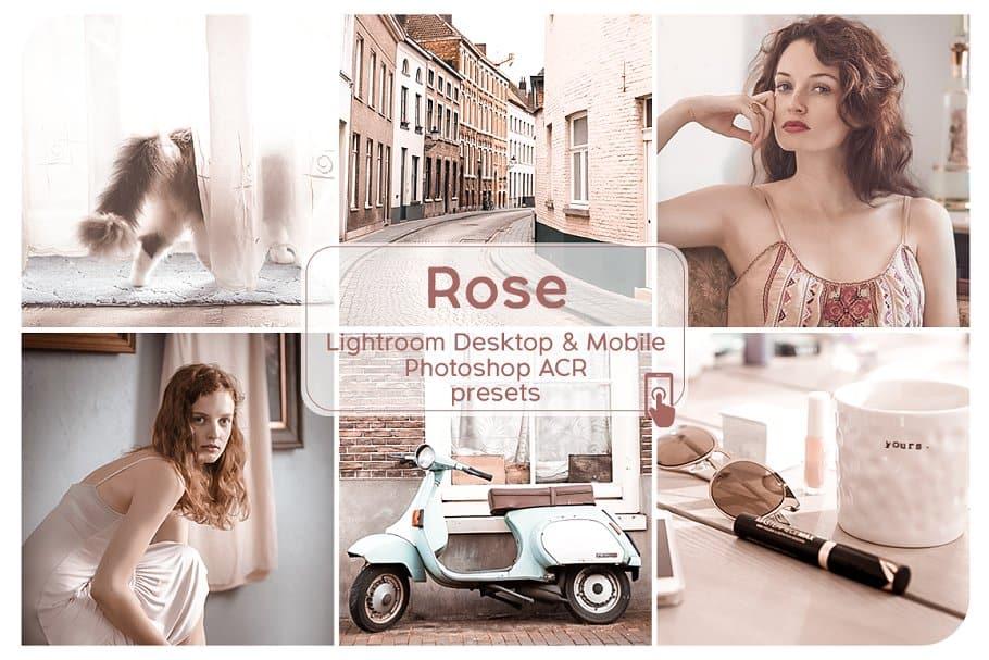 Preset Rose Lightroom Presets for lightroom