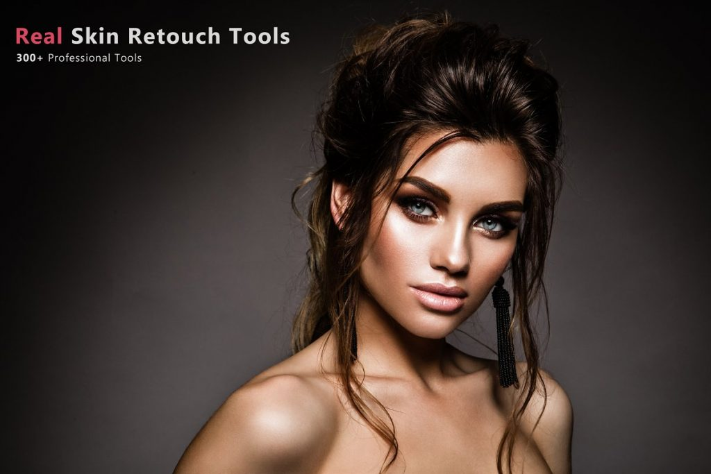 Preset 300+ Real Skin Retouch Tools for lightroom