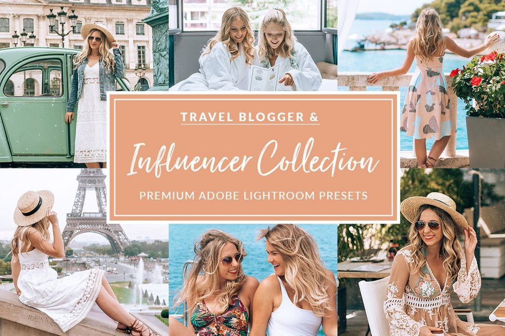 Preset Influencer Collection for lightroom