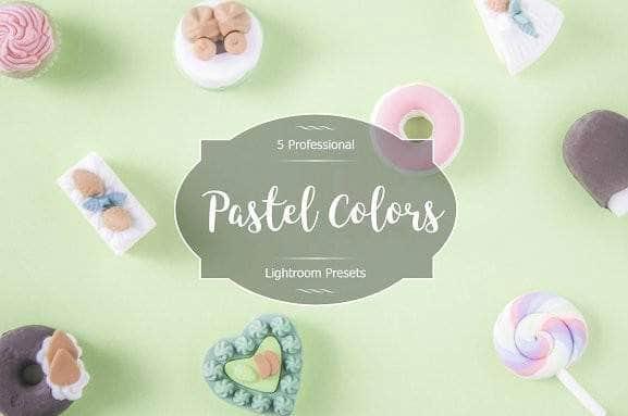 Preset Pastel Colors for lightroom